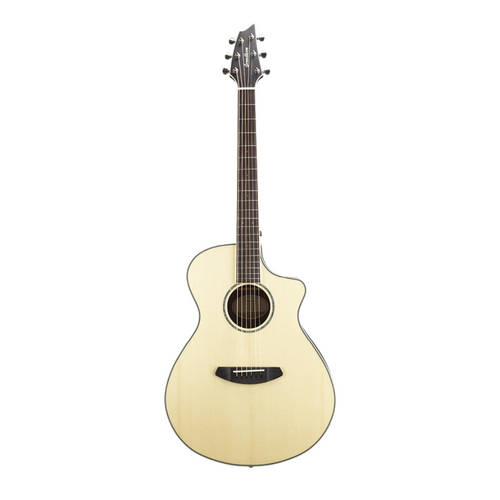 Breedlove Pursuit Exotic Concert CE - Engelmann Spruce/Striped Ebony