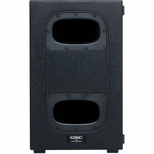 """QSC KS112 - 2000W 12"""" Compact Powered Subwoofer"""