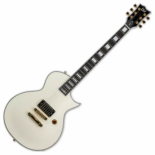 ESP Ltd. NW-44 Olympic White Neil Westfall Electric Guitar Front
