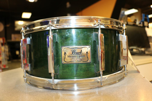 PEARL 55685 Pre-Owned MMX Snare Green  #99