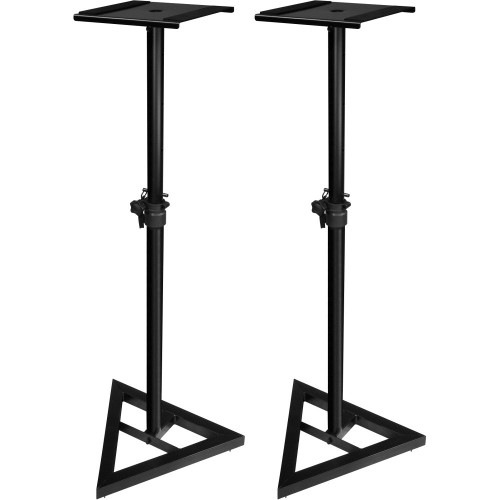 USS JSMS70 Adjustable Monitor Stand Pair Black'