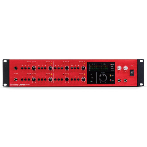 FOCUSRITE Clarett 8prex 26in/28out Thunderbolt Interface