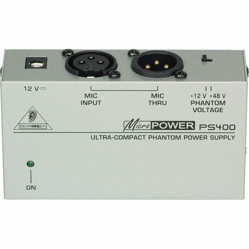 PS400  Phantom power supply