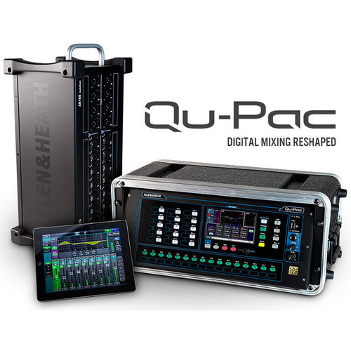 ALLEN & HEATH QUPAC32 16 in / 12 out Rackmount Digital Mixer Expandable to 32in /24out