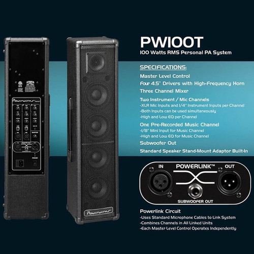 Powerwerks PW100T info card