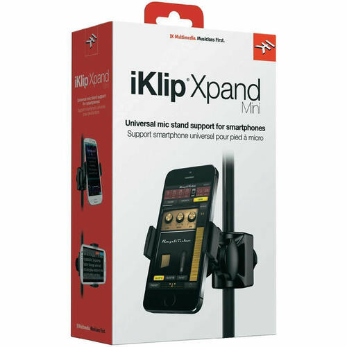 IK MULTIMEDIA IKLIPXPANDMN Adjustable Mic Stand Mount for Smartphones