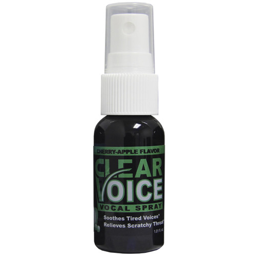 CLEAR VOICE CHERRY APPLE flavored Vocal Spray