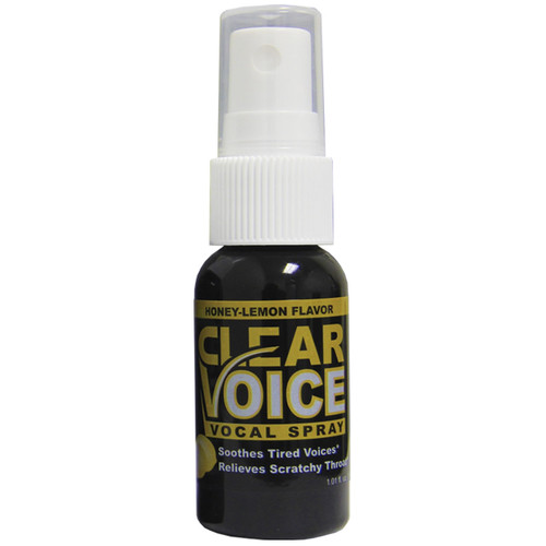 CLEAR VOICE HONEY LEMON flavored Vocal Spray