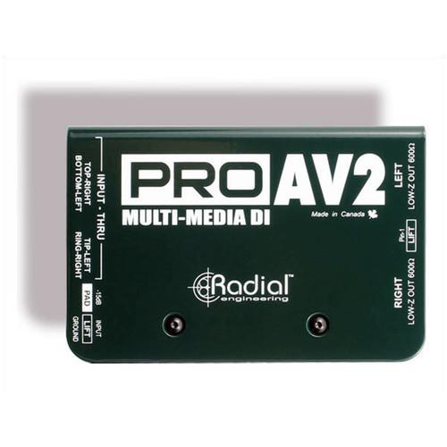 Radial PROAV2 2 Channel DI for AV
