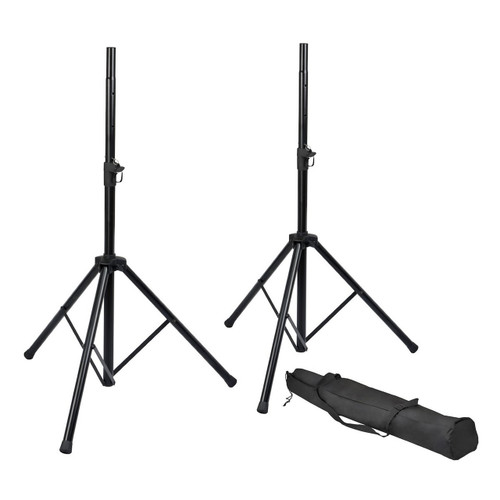 Gator Cases RISPKRSTDSET Speaker Stand Set w/ Carrying Bag