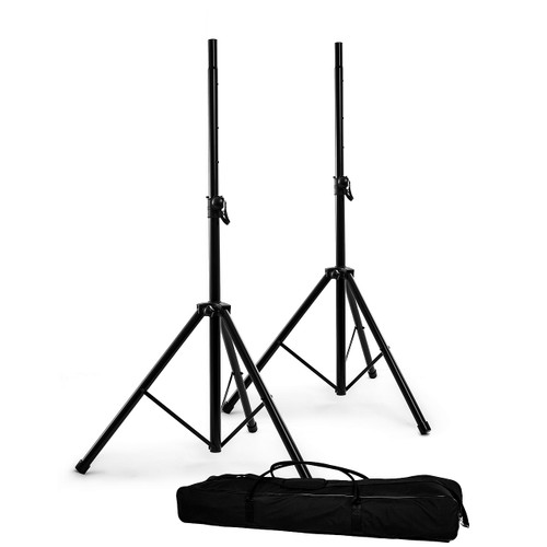 NOMAD NSS8033PK Speaker Stand Pr w/ Carrying Bag