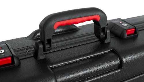 Gator Cases GTSAKEY88 ATA 88 Key Keyboard Case With TSA Locks  handle