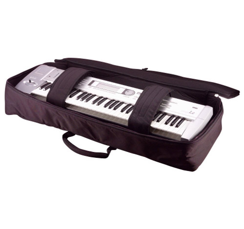 Gator Cases GKB61 61-key Keyboard Gig Bag open