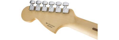 Fender Mustang Headstock Rear Facing