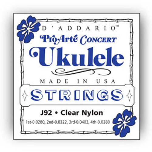 D' ADDARIO J92 Concert Ukulele Strings