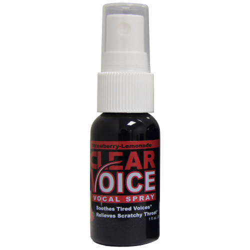CLEAR VOICE STRLEMON Vocal Spray - Strawberry Lemonade