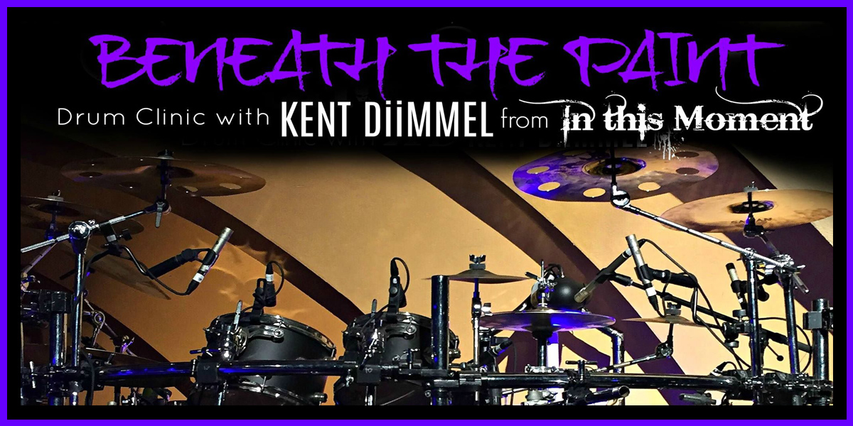 Big Dudes Music City presents Kent Diimmel from In this Moment Feb17 2018 3 to 5 pm