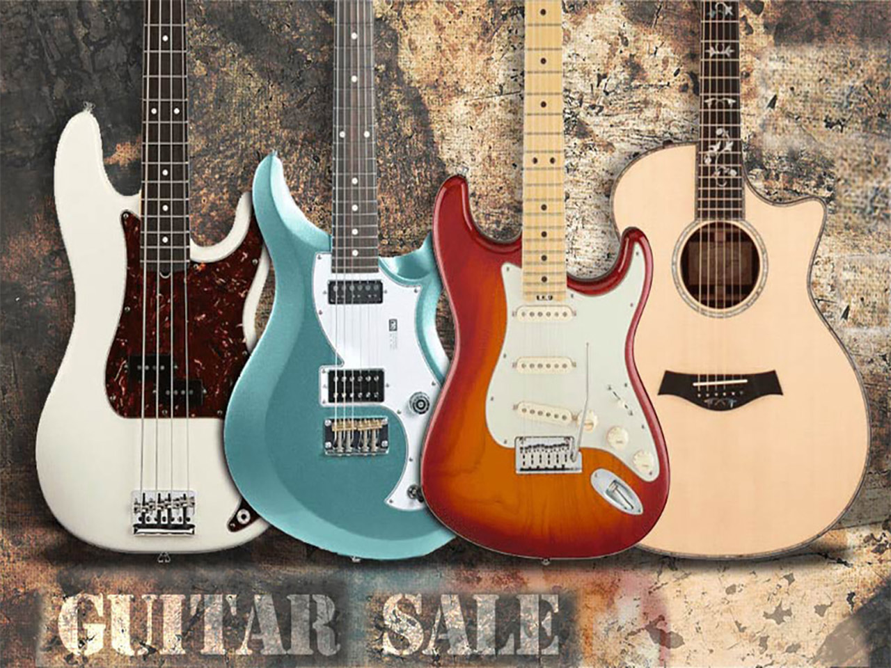 Big Dudes Music City Guitar Sales