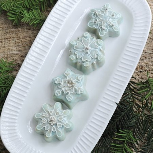 Frozen Snowflake Cakelet Ideas