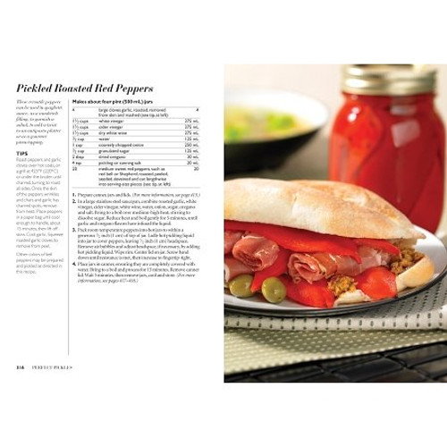 Pickled Roasted Red Peppers Recipe & Picture