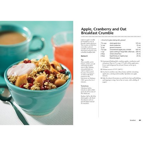 Apple, Cranberry Breakfast Crumble