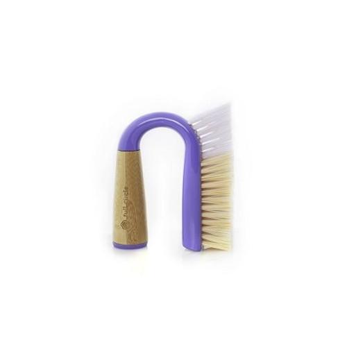 Full Circle Grunge Buster Grout & Tile Brush - Purple