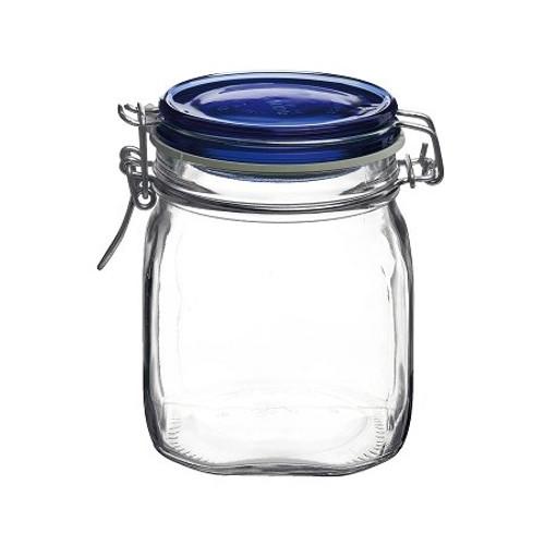 Fido Jar - .75L (25.25 oz) - Blue Lid (BR 149520M04321877)