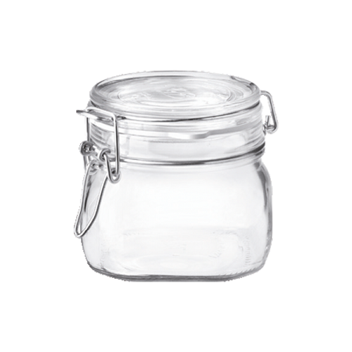 Fido Jar - .5L (17 oz) - Clear Lid