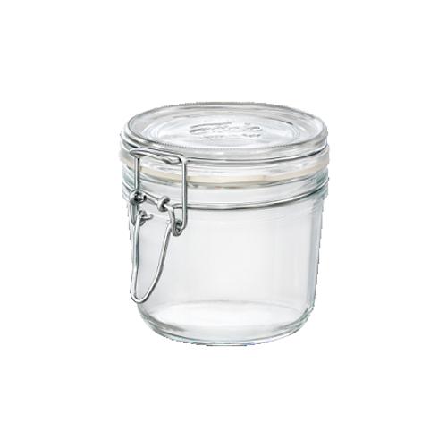 Fido Jar - .35L (11.75 oz) - Round with Clear Lid