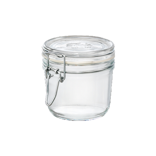 Fido Jar - .35L (11.75 oz) - Round with Clear Lid