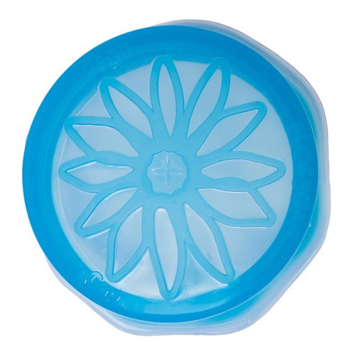 Blossom Ucap Silicone Wide Sipping Cap, Blue