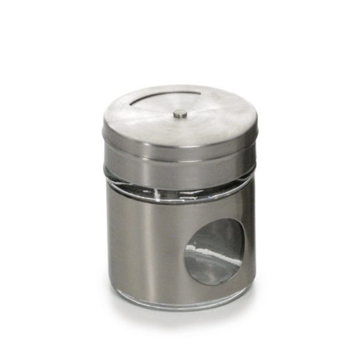 RSVP Endurance 2 oz. Glass Spice Shaker- Short