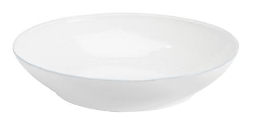 Costa Nova Friso Collection - Pasta Serving Bowl - 13.25 Inch - White (CN FIS341-02202F)