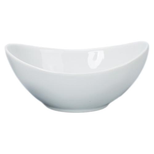 B.I.A Oval Oval Organic Bowl - White - 12 oz. (BIA 940458)