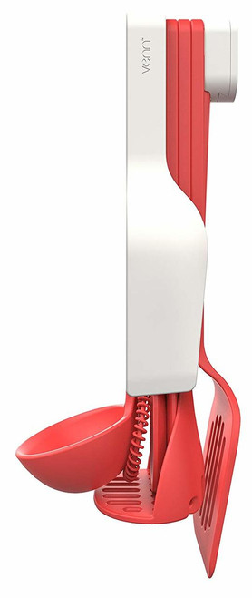 Venn Stack 8 Piece Utensil Set- Red (CB VNUTSETRED)