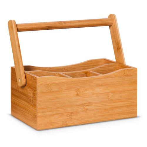 Danesco Natural Living Collection - Flatware Caddy - Bamboo (BIA 3020093)