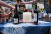 Square and Round Coasters (with Oblation Platter and Nile Cradle Ice Bucket)