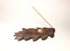 Handmade Copper Leaf Incense Holder by Brasscopper (Arianna Morales)