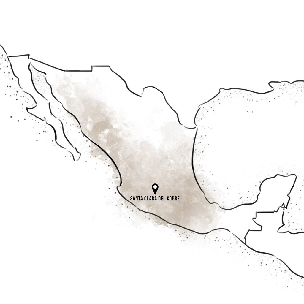 Sertodo Copper products are made in Santa Clara del Cobre, Mexico (map)