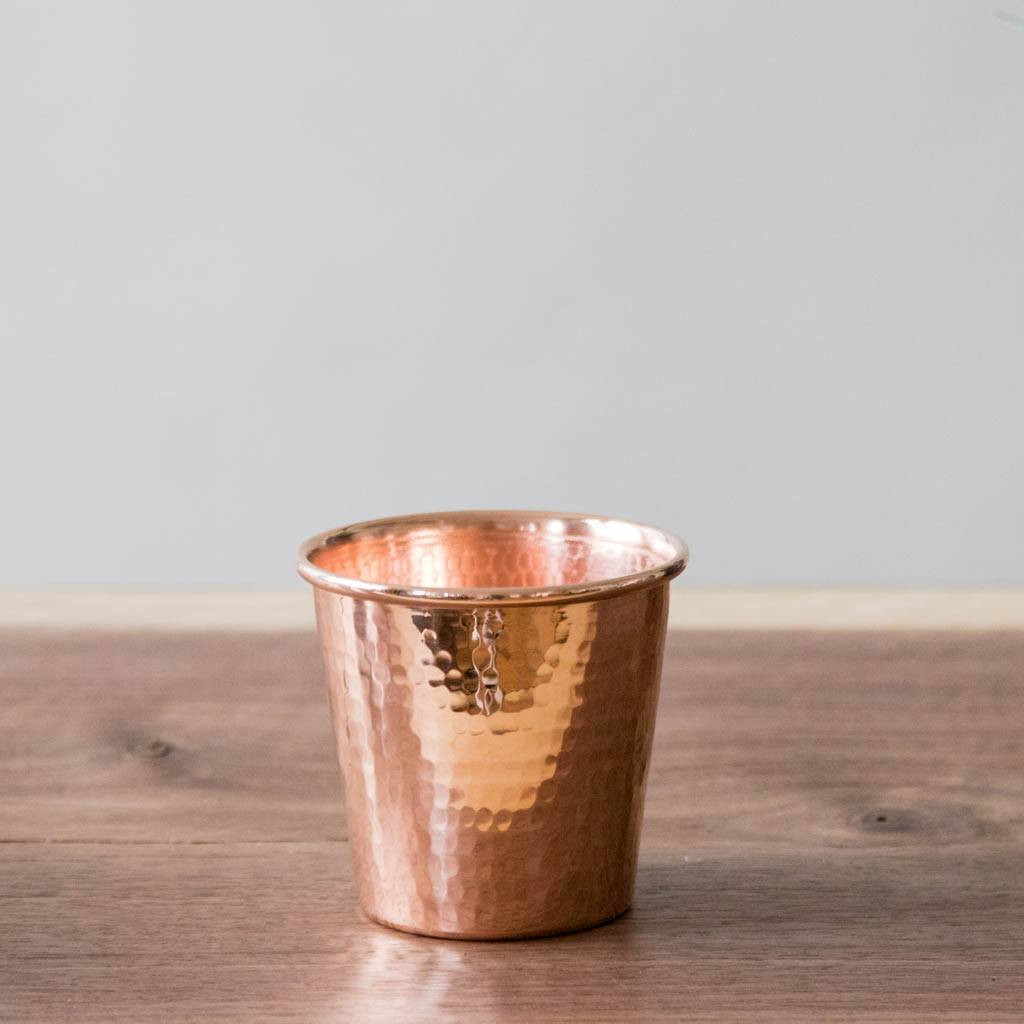 Hammered Copper Apa Cup by Sertodo Copper (12 ounce)