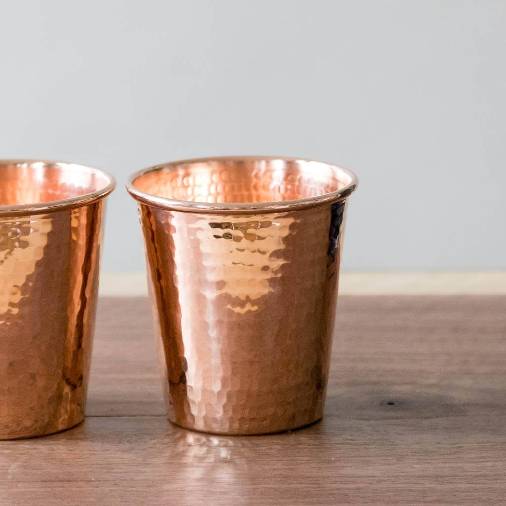 Hammered Copper Apa Cup by Sertodo Copper (18 ounce)
