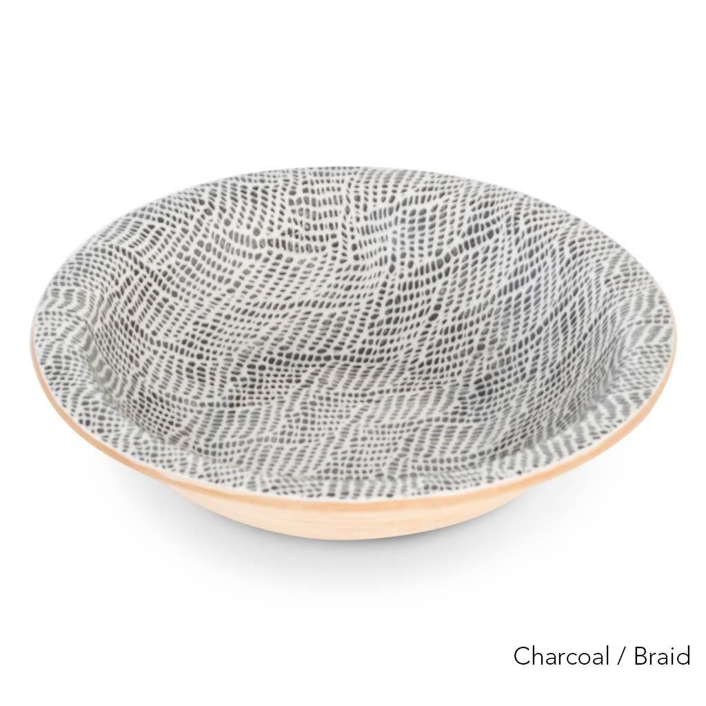 Terrafirma Ceramics - Large Serving Bowl (Charcoal)