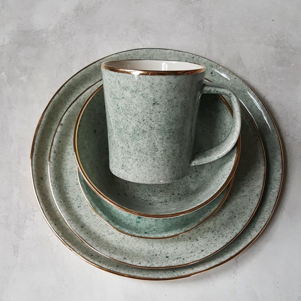 Apricity Ceramics - Dew Collection Mug (Green)