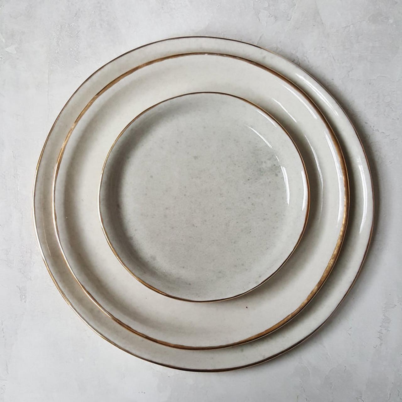Apricity Ceramics - Dew Collection Dinnerware set (Grey)