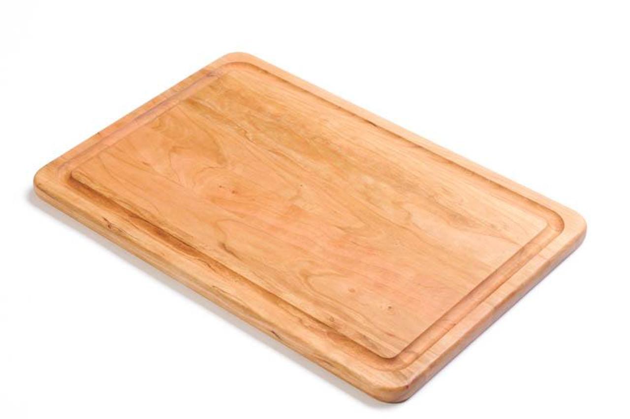 "Warther Cherry Cutting Board 18"" x 12"""