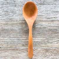 Handmade cherry ladle by Rockledge Farm Woodworks