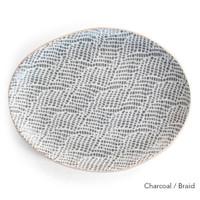 Terrafirma Ceramics Small Oval (Charcoal/Braid)