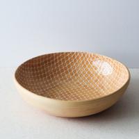 Terrafirma Ceramics Medium Serving Bowl (Apricot/Taj)