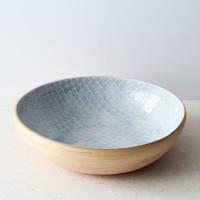 Terrafirma Ceramics Medium Serving Bowl (Opal/Taj)