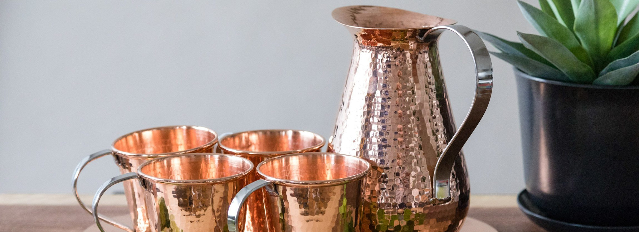 Copper Drinkware Sets